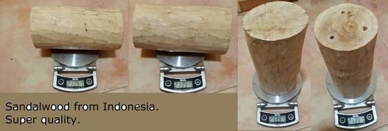 Wild Indonesian Grade 1 Sandalwood block 2.129 kg