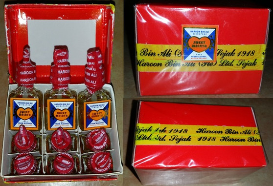 1 dozen (12 bottles) of The famous Sweet Malaya attar by HBA (established since 1918) 3cc each