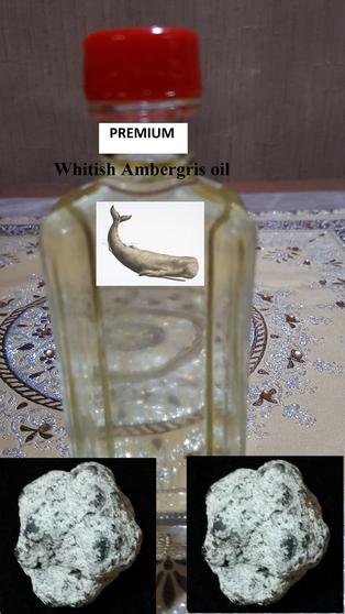 Premium Whitish AMBERGRIS oil-non alcoholic (3cc) (new batch 19112019)