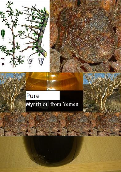 Pure Myrrh oil 6ml - non alcoholic
