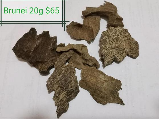 Agarwood/Aloeswood/Oud/Gahru chips, Brunei 20g
