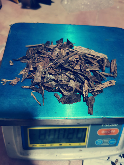 Agarwood/Aloeswood Oud chips, South Thailand 20 grams