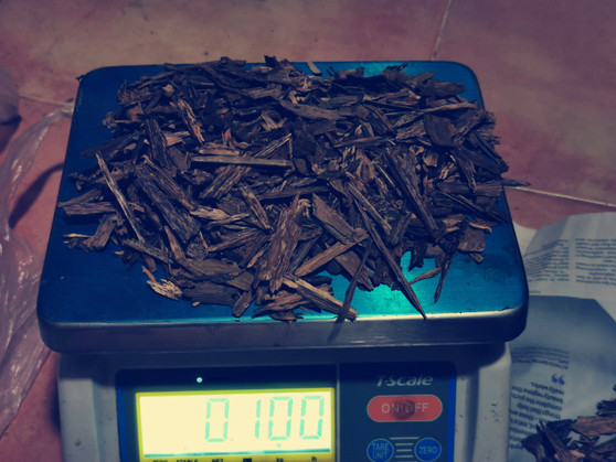 Agarwood/Aloeswood Oud chips,  South Thailand 100 grams