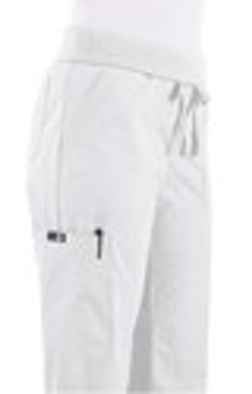 White Morgan - Waist Folded Down