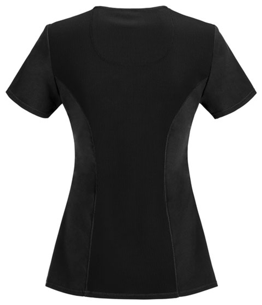 2625A Top in Black - Back View
