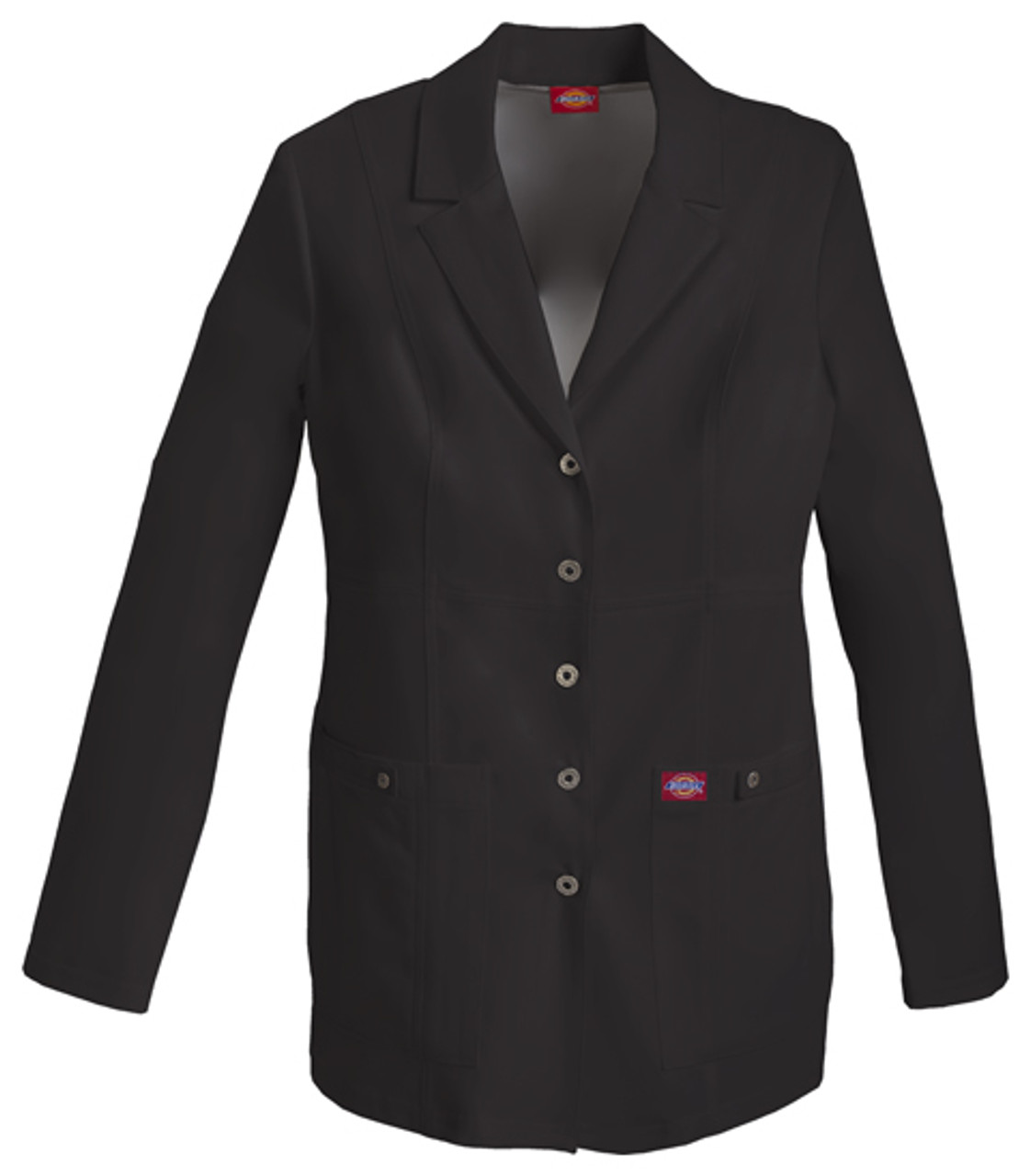 82400 Lab Coat in Black