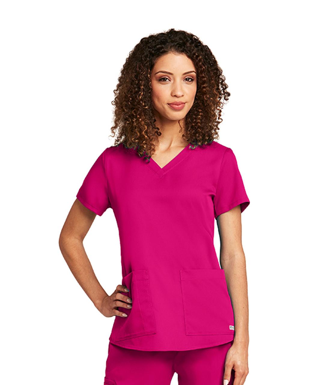Grey's Anatomy™ 2 Pocket Shirred Back Top