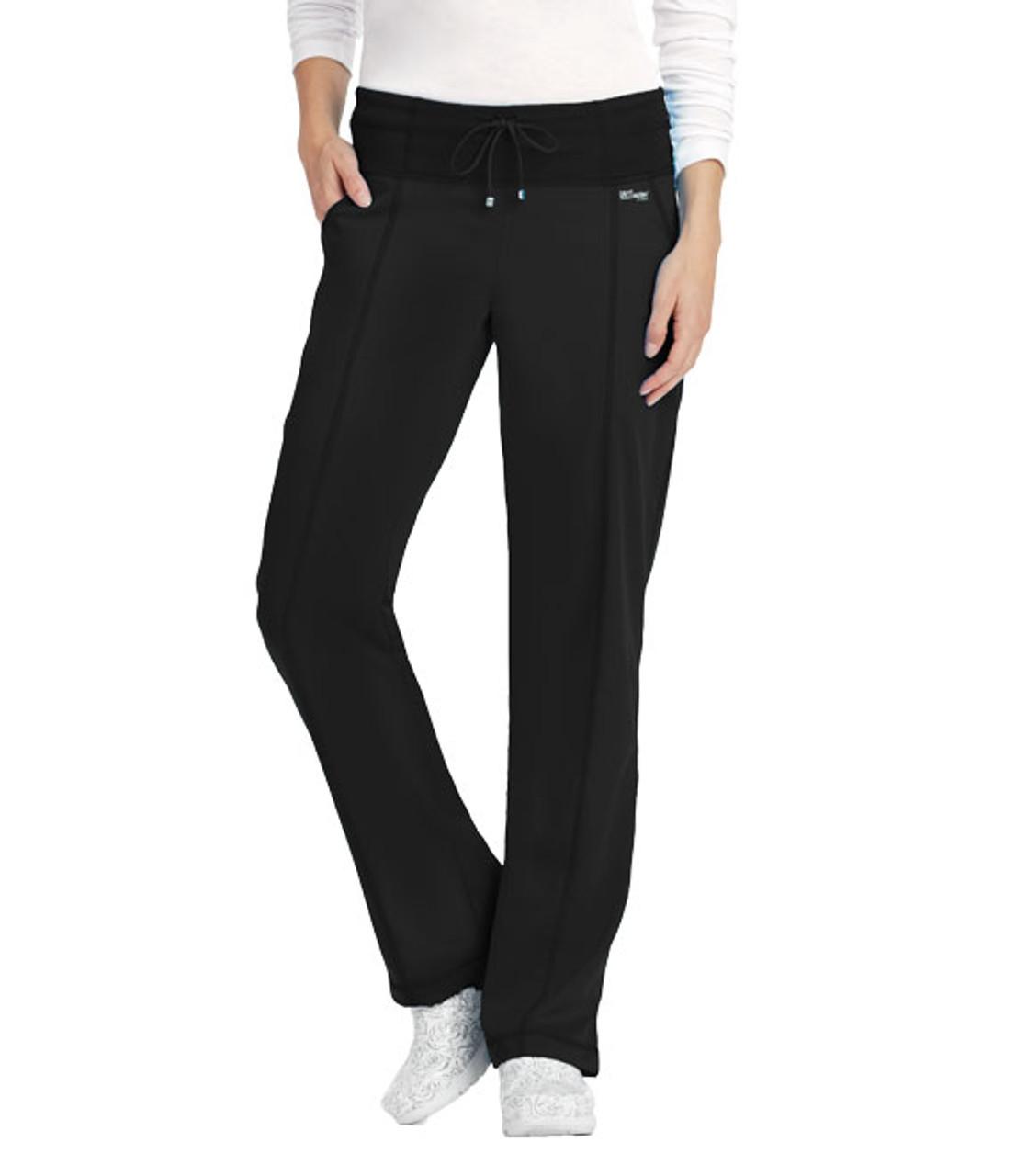 Grey's Anatomy™ 4 Pocket Low Rise Straight Leg Pant