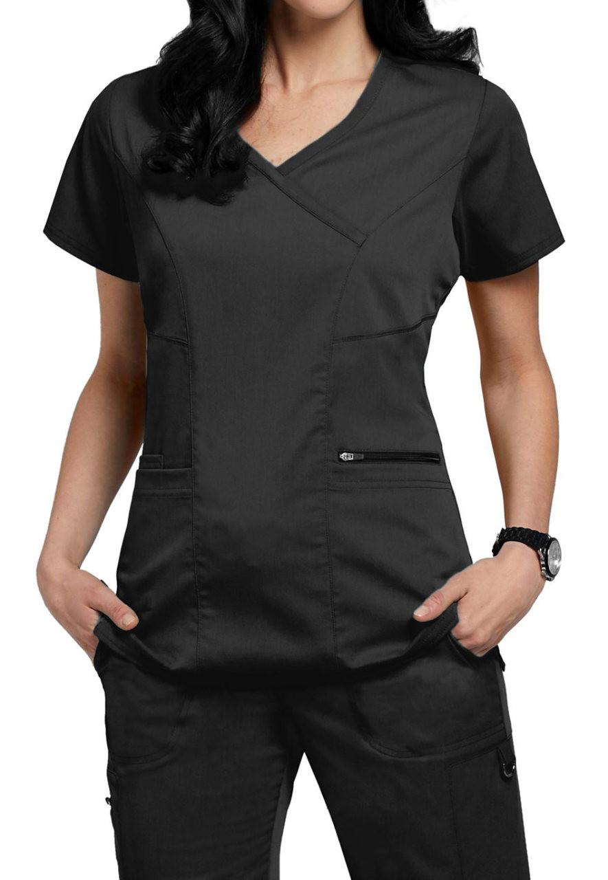 Grey's Anatomy™ + Spandex Stretch 3 Pocket Kim Top