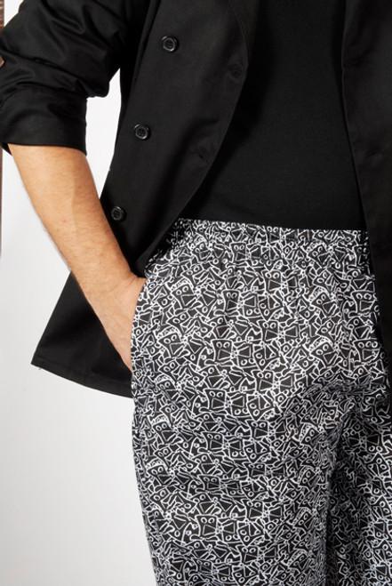 Chef Pant Pocket Detail