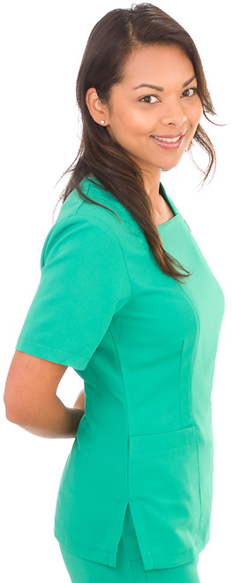 Excel 4-Way Stretch Zippered Top