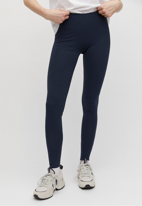 Donkerblauwe legging Armed Angels biokatoen