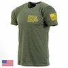 Gunfighter Tee S/S, Mod 24 (Green/Gold)