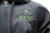 BCM® Hoodie (Black / Green Embroidery)