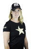 STAR T-Shirt, Short Sleeve (Black), WOMEN