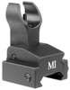 MI Folding Front Sight - Rail Mount - BLACK