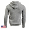 Command Hoodie Zip, Mod 22 (Grey/ Black)
