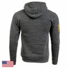 Command Hoodie, Mod 22 (Charcoal / White)