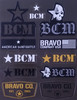 BCM Sticker Sheet #1