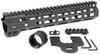 "MI 10.5"" Combat Rail One Piece Free Float Handguard, M-LOK™ compatible"