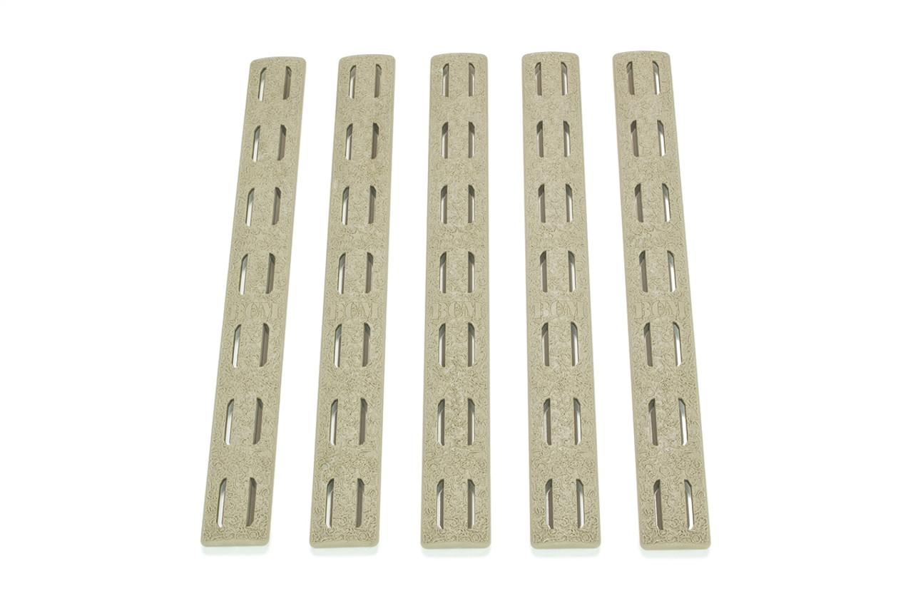 "Pack of 3 pieces FDE 4/"" Keymod Rail Panel handguard Cover Flat Dark Earth"