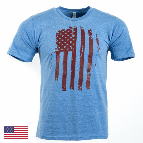 Patriot Tee S/S, Mod 14 (Blue/Red)