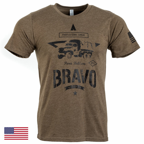 Honour Tee S/S, Mod 11 (Brown/Black)