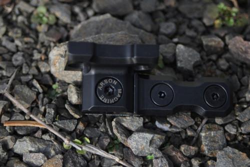 Arson Machine Co. KeyMod™ M600 Scout Mount, Black