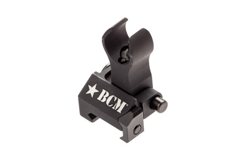 BCM® Folding Battle Sight - Front - HK Type - Black (mfg by Troy Ind)