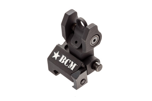 BCM® Folding Battle Sight - REAR (mfg by Troy Ind) - Black
