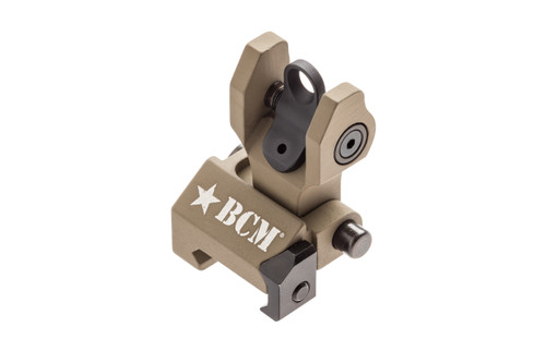 BCM® Folding Battle Sight - REAR (mfg by Troy Ind) - FLAT DARK EARTH