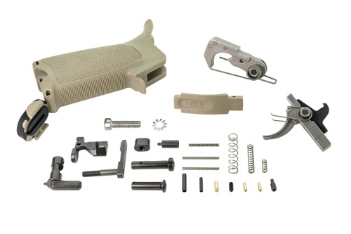 BCMGUNFIGHTER™ AR-15 Enhanced Lower Parts Kit - Flat Dark Earth