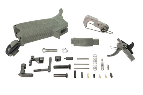 BCMGUNFIGHTER™ AR-15 Enhanced Lower Parts Kit -Foliage Green