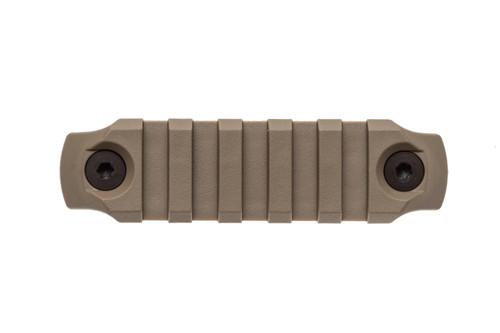 BCM® KeyMod™ 3 Inch Picatinny Rail Section, Nylon - Flat Dark Earth