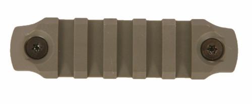 BCM® KeyMod™ 3 Inch Picatinny Rail Section, Nylon - Foliage Green