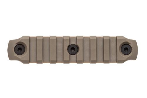 BCM® KeyMod™ 4 Inch Picatinny Rail Section, Nylon - Flat Dark Earth