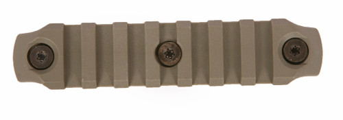 BCM® KeyMod™ 4 Inch Picatinny Rail Section, Nylon - Foliage Green