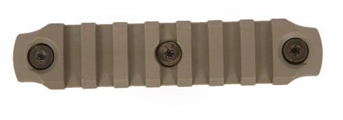 BCM® KeyMod™ 4 Inch Picatinny Rail Section, Nylon - Foliage Green