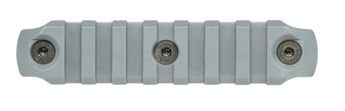 BCM® KeyMod™ 4 Inch Picatinny Rail Section, Nylon - Wolf Gray
