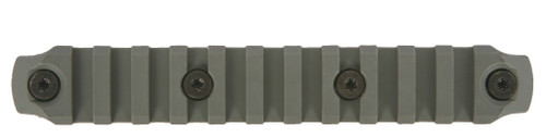 BCM® KeyMod™ 5.5 Inch Picatinny Rail Section, Nylon - Foliage Green