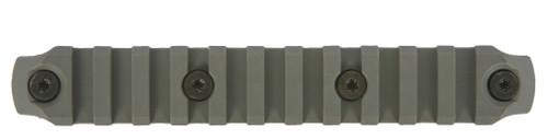 BCM® KeyMod™ 5.5 Inch Picatinny Rail Section, Nylon - Foliage Green