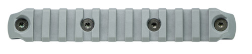 BCM® KeyMod™ 5.5 Inch Picatinny Rail Section, Nylon - Wolf Gray