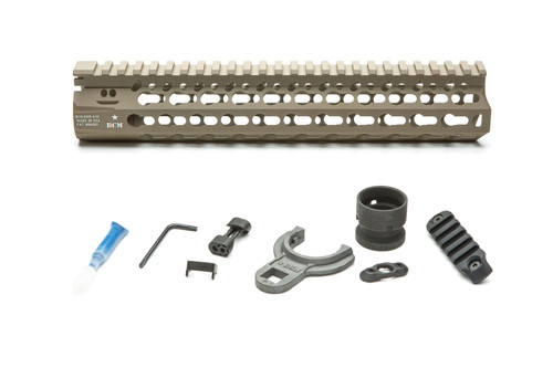 BCM® KMR *ALPHA* 10 (KeyMod™ Free Float Handguard) Flat Dark Earth