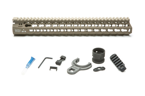 BCM® KMR *ALPHA* 13 (KeyMod™ Free Float Handguard) Flat Dark Earth