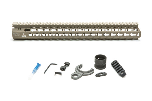 BCM® KMR *ALPHA* 15 (KeyMod™ Free Float Handguard) Flat Dark Earth
