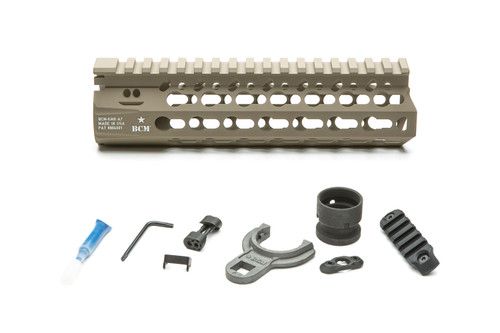 BCM® KMR *ALPHA* 7 (KeyMod™ Free Float Handguard) Flat Dark Earth