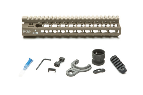 BCM® KMR *ALPHA* 9 (KeyMod™ Free Float Handguard) Flat Dark Earth