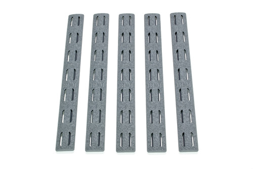 BCM­® KeyMod™ Rail Panel Kit, 5.5-inch WOLF GRAY ***(FIVE Pack!)***