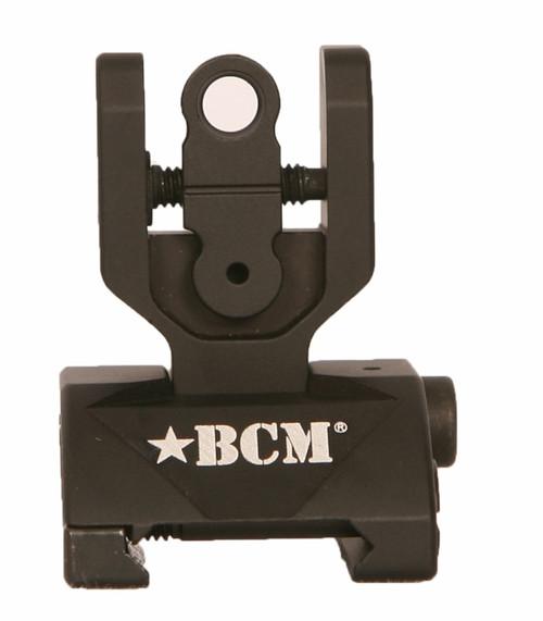 BCM® Folding Sight - REAR (mfg by Diamond Head) - Black