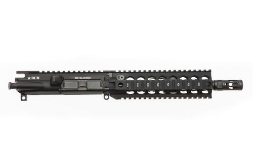 """BCM® Standard 9"""" 300 BLACKOUT Upper Receiver Group w/ QRF-8 Handguard"""
